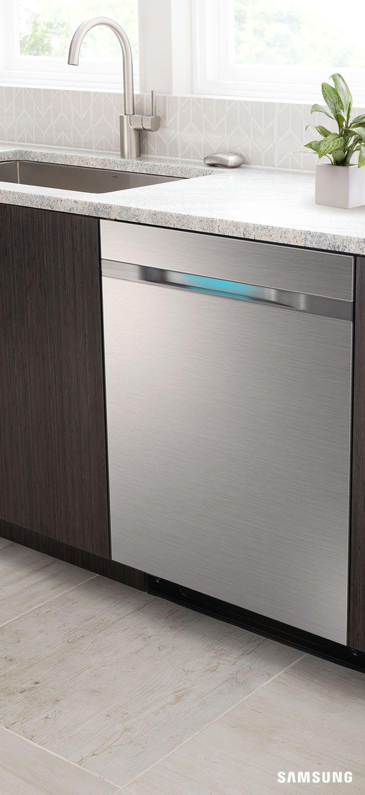 Top Control Dishwasher With Waterwall Technology Dishwashers Dw80j9945us Aa Samsung Us Kitchen Redesign Kitchen Design Samsung Appliances
