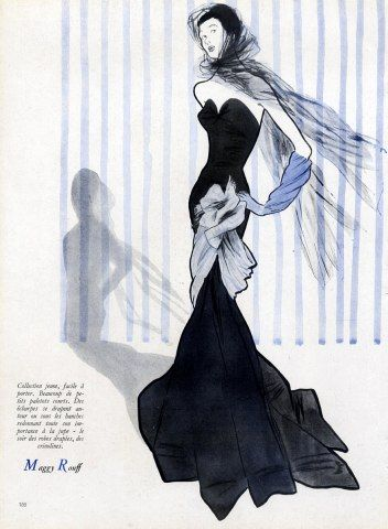 Maggy Rouff gown 1947