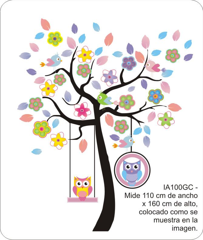 Vinilo decorativo infantil super grandes nuevos mayo - Vinilos infantiles grandes ...