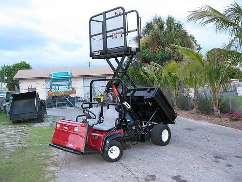 Toro Workman 3100 Dump Body Scissor Lift Man Lift | Tractors