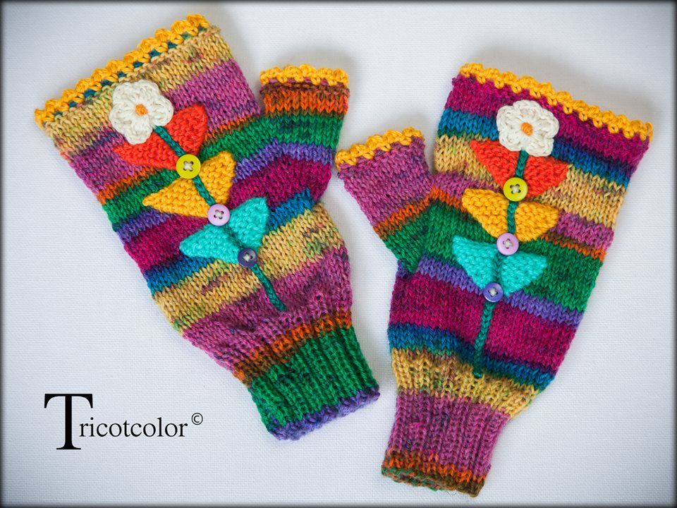 how to make winter gloves