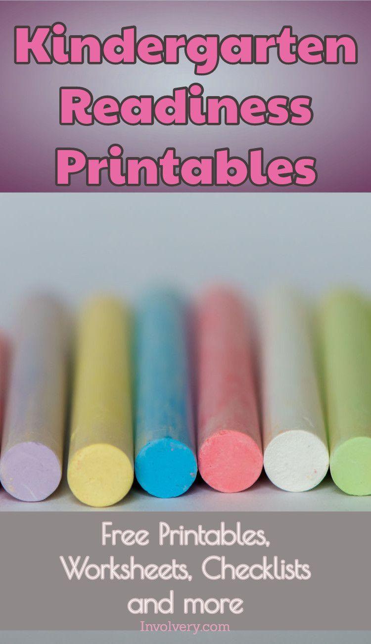 Kindergarten Checklists 2018 - Free Printable Readiness Checklists ...