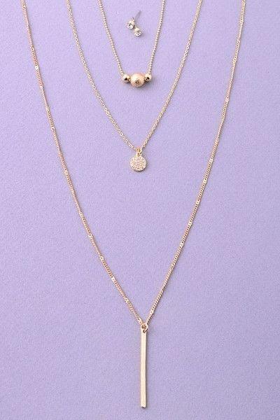 Ladylike Layers Necklace