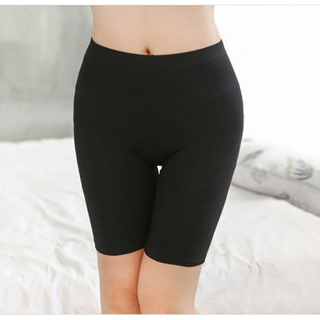Hot Sale Ladies Knee-Length Short Leggings Under Skirts, Comfortable Lightweight Bamboo for Summer 3 Sizes