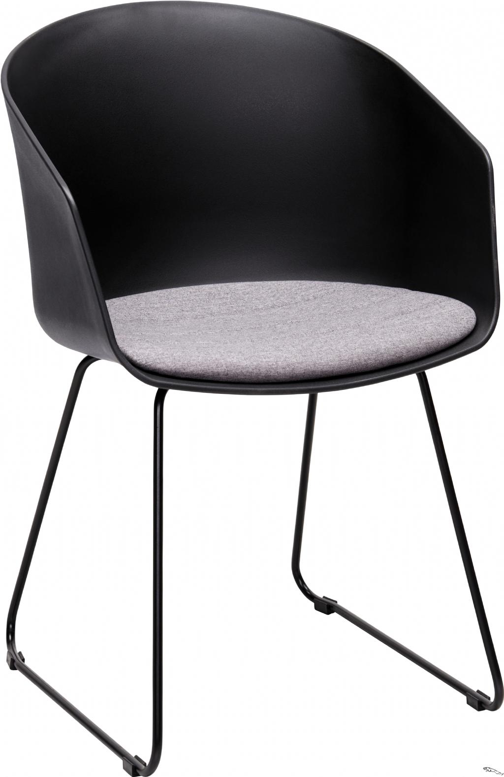 Armlehnstuhl Grau Schwarz Esszimmerstuhl Schwarz Esszimmerstuhle In 2020 Modern Sectional Fabric Sofa Furniture