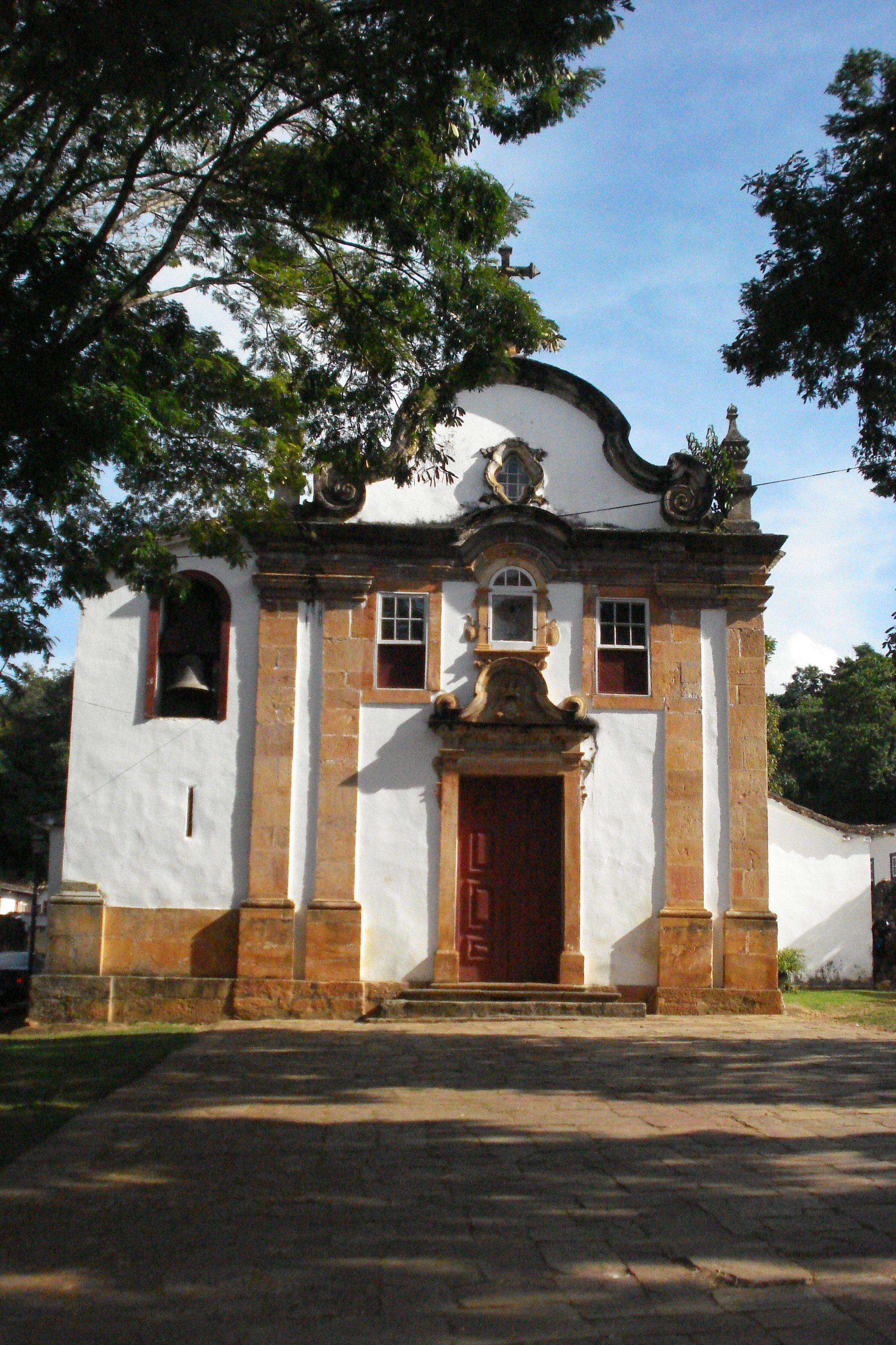 Foto da Igreja NS do Rosário dos Pretos em Tiradentes, Minas Gerais