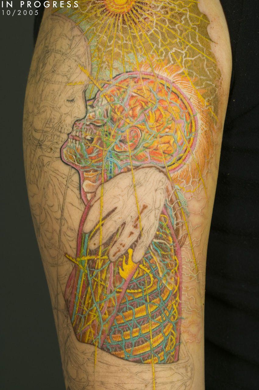 AG.jpg (850×1278) Alex grey tattoo, Tattoo sleeve