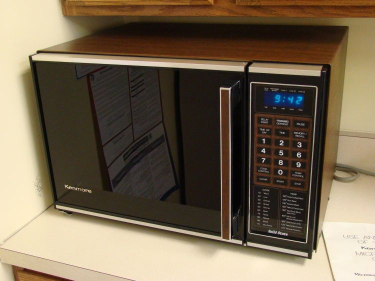 When Microwaves Made Their Way Into American Households Not Sure What Our First One Looked