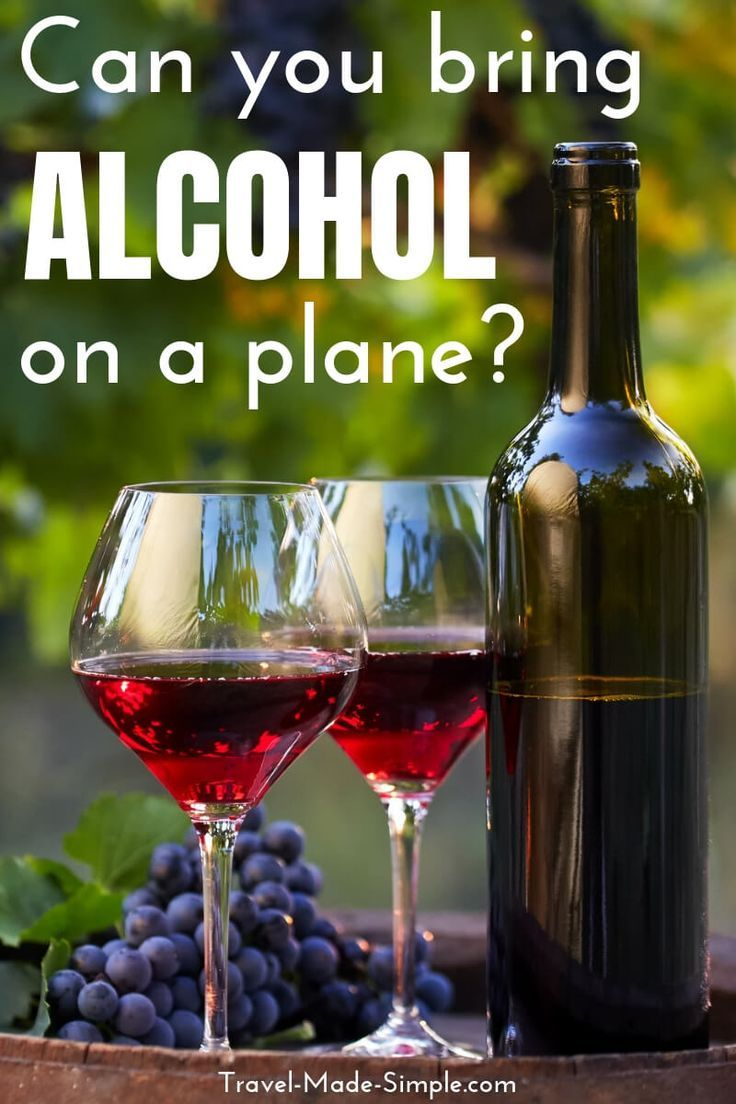 Can you bring alcohol on a plane? Can you bring alcohol on a plane? What are the rules for alcohol in carry on or checked baggage? What about international flights? Here's everything you need to know about traveling with booze.