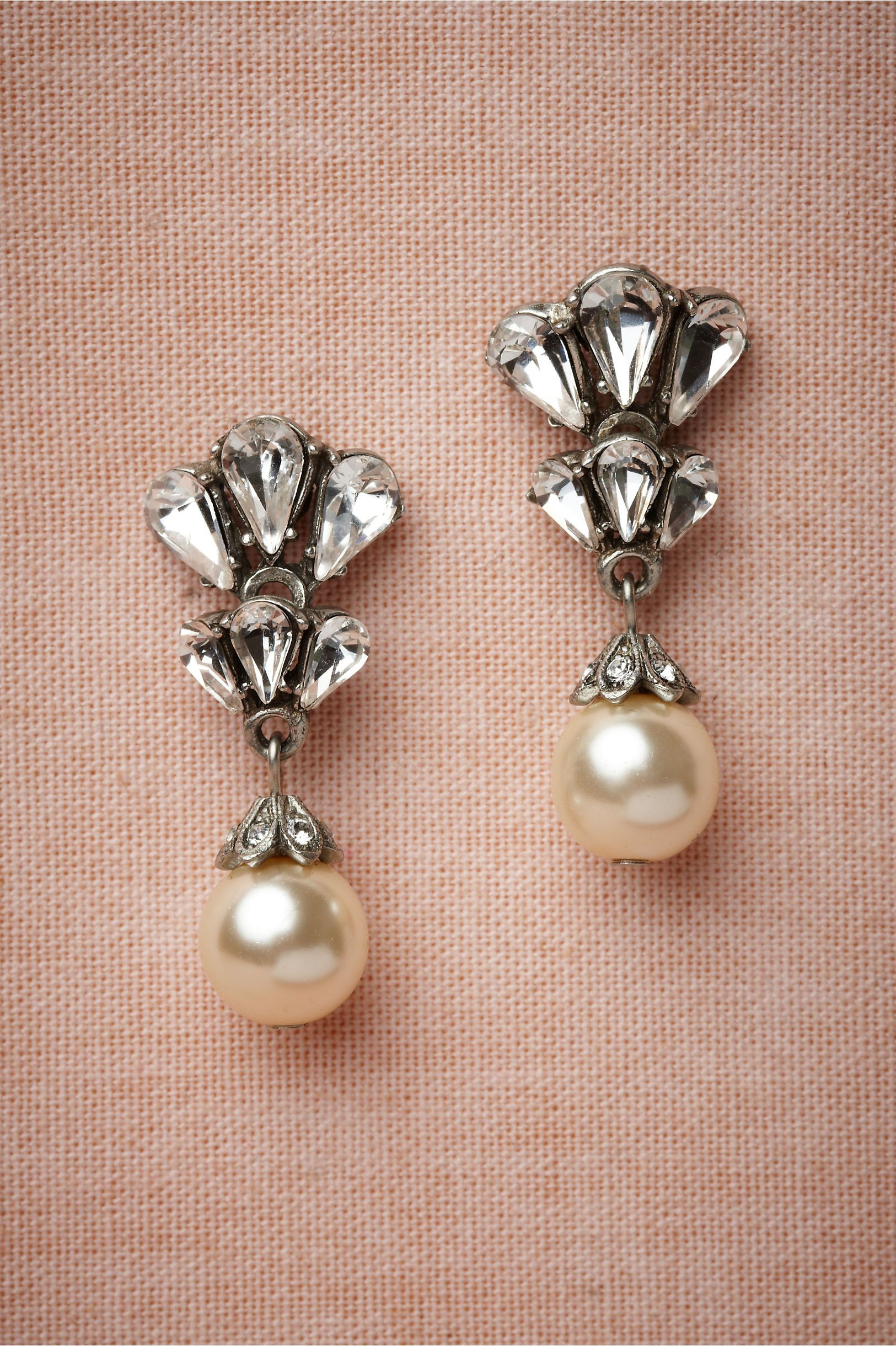 shop silver pearl single southern by jewelry sterling earring girls in earrings layer jackets the
