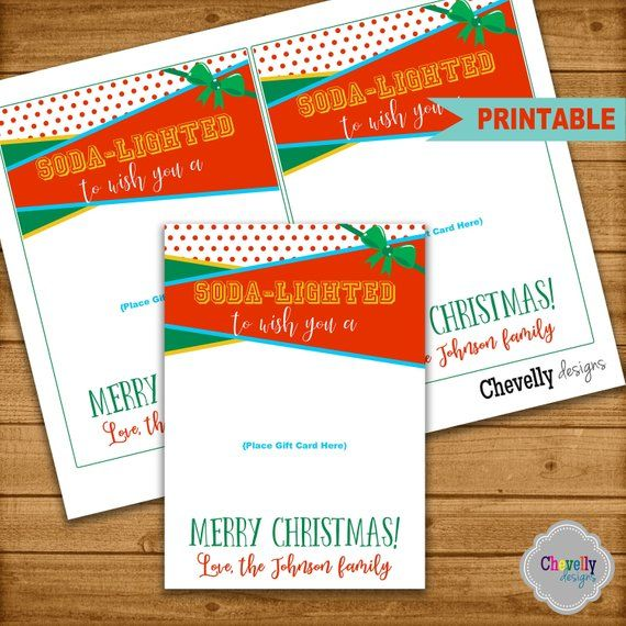 graphic relating to Sonic Gift Card Printable identify SONIC Xmas Present Card Printable - trip, soda, reward