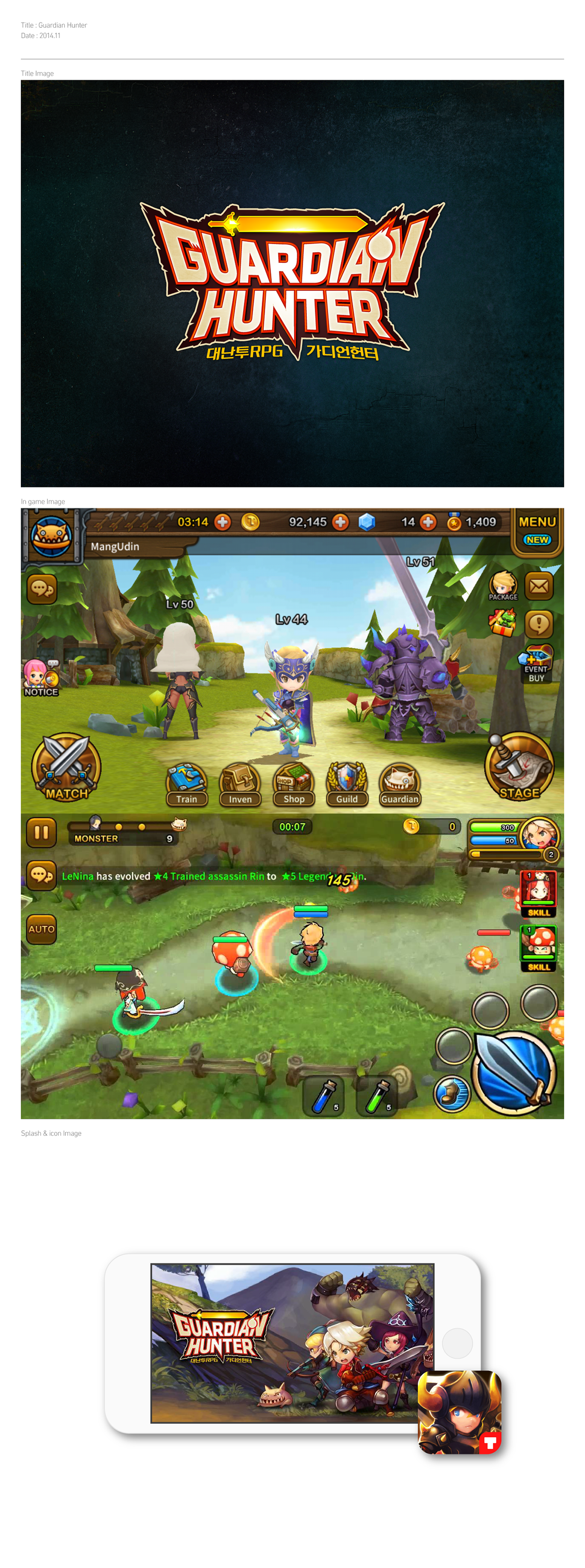 Guardian Hunter BI on Behance