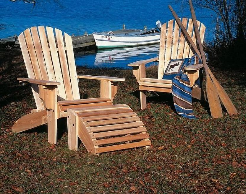 Heavy Duty Sun Lounger, Northern White Cedar Adirondack Chairs Home Design And Decor Ideas Adirondack Chair Adirondack Chairs Cedar Furniture