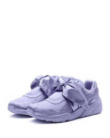 41a5bbfc882a8a Fenty Puma by Rihanna Trinomic Bow Satin Platform Sneaker