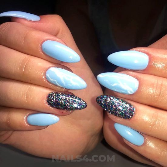 """75 Cute Almond Nail Designs You'll Want to Try / #almond explore  Pinterest""""> #almond explore Pinterest""""> #almond explore Pinterest""""> #almond… - 75 Cute Almond Nail Designs You'll Want To Try / #almond Explore"""