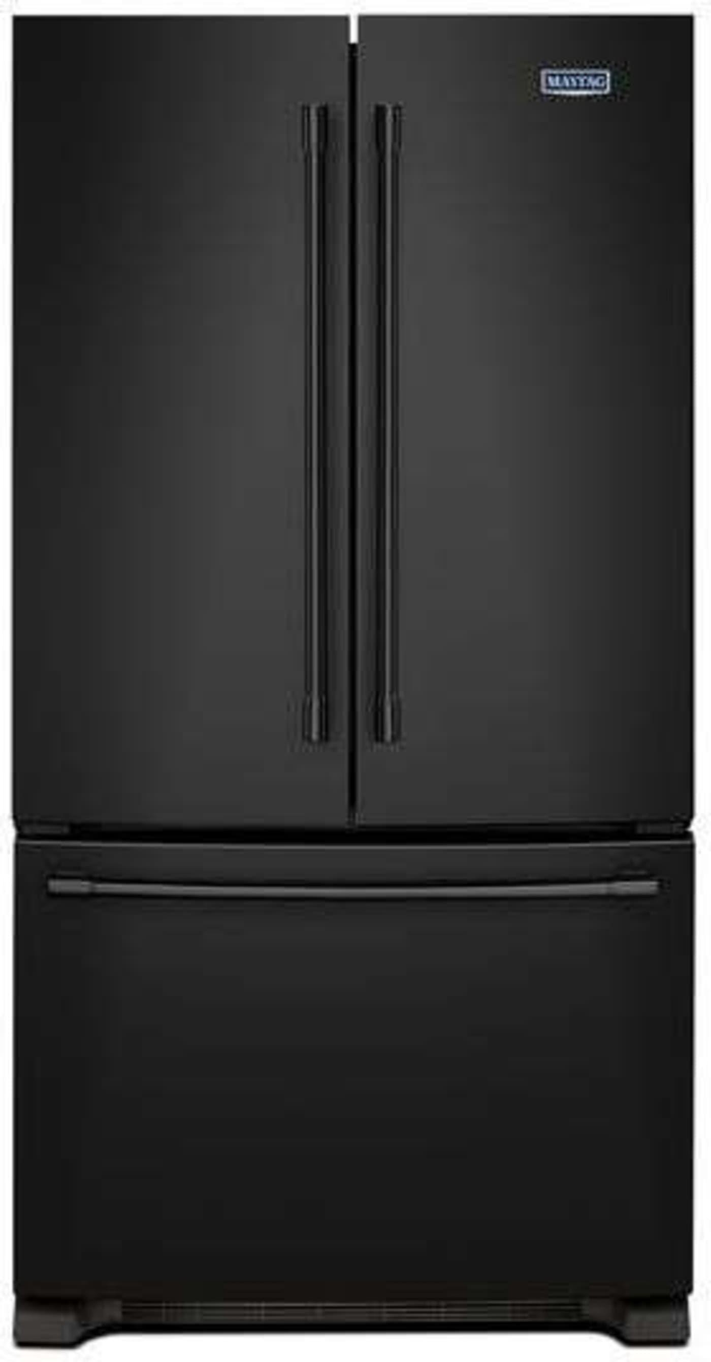 Maytag Mff2558feb Black French Door Refrigerator French Door Refrigerator Black French Doors