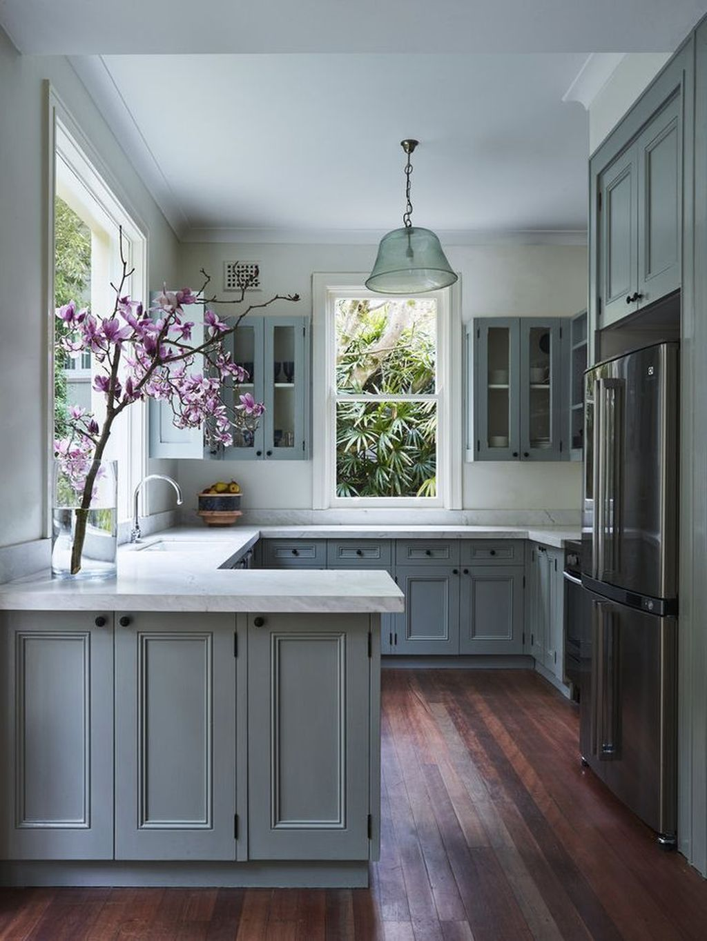 Nice adorable blue kitchen design ideas more at http www also pinterest rh