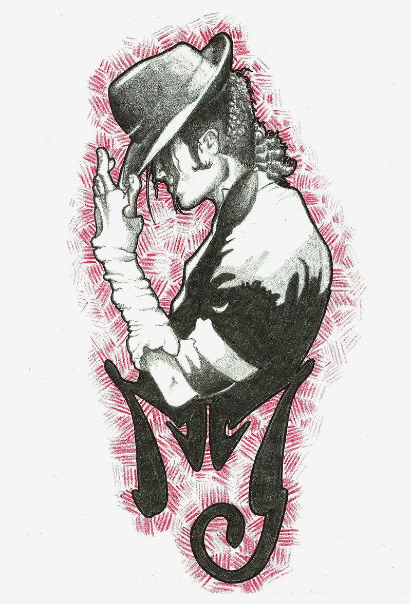 Mj Tattoo By Fierygabreilla Deviantart Com On Deviantart I Think I Just Found My Tattoo Michael Jackson Art Michael Jackson Drawings Michael Jackson Tattoo