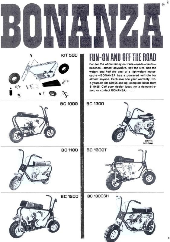 Pin by OMB Warehouse on Vintage Mini Bike Ads | Pinterest | Mini ...
