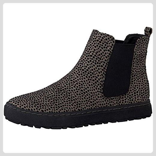 timeless design 6a30b f1318 Soft Line Damen Chelsea Boots Stiefelette Sand/Leo Weite H ...