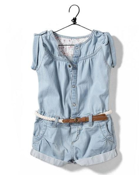 cbf515e9d2bb A great summer piece. Soft denim material makes it comfortable and ...
