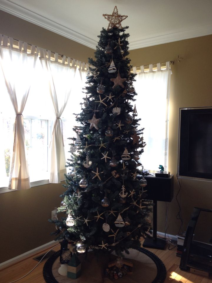 Coastal Christmas tree Decorations from Anchor - AC Moore Sail - coastal christmas decorations