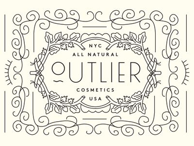 NYC All Natural Outlier Cosmetics logo
