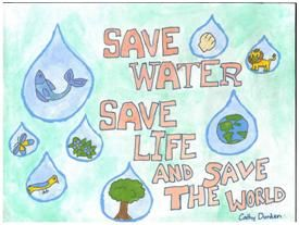 Conserve Water Because It Is The Right Thing To Do Dont