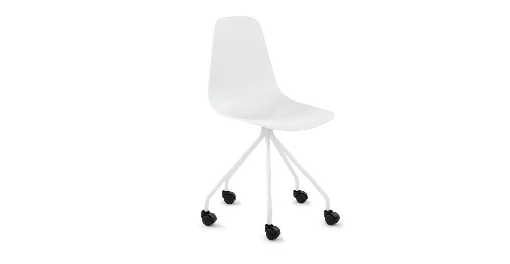 Svelti Aloe Green Office Chair In 2020 White Office Chair Pink Office Chair Modern Office Chair
