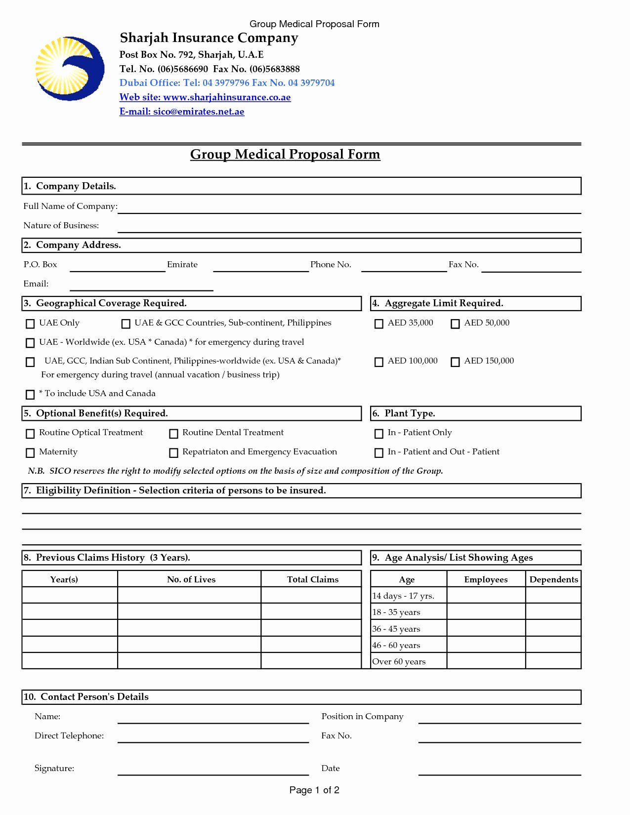 Commercial Insurance Proposal Template In 2020 Health Insurance Quote Proposal Templates Business Letter Sample