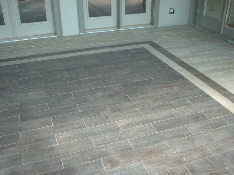 Traditional Porch Tile Flooring | House | Pinterest | Porch ...