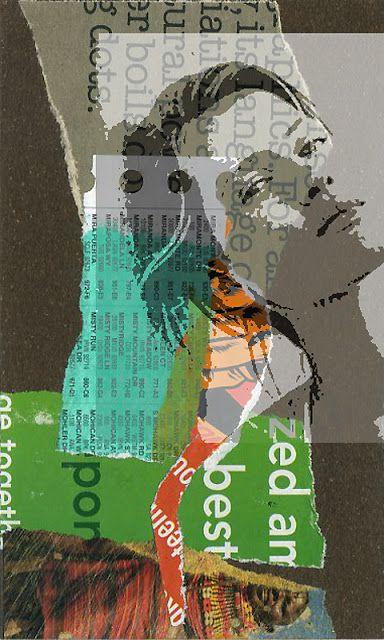 Collage & digital by Jackie Long
