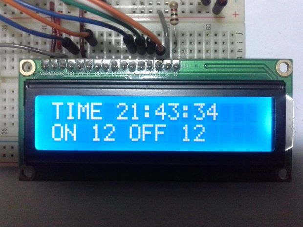 Arduino Timer With On/Off Set Point | arduino | Eletrônica