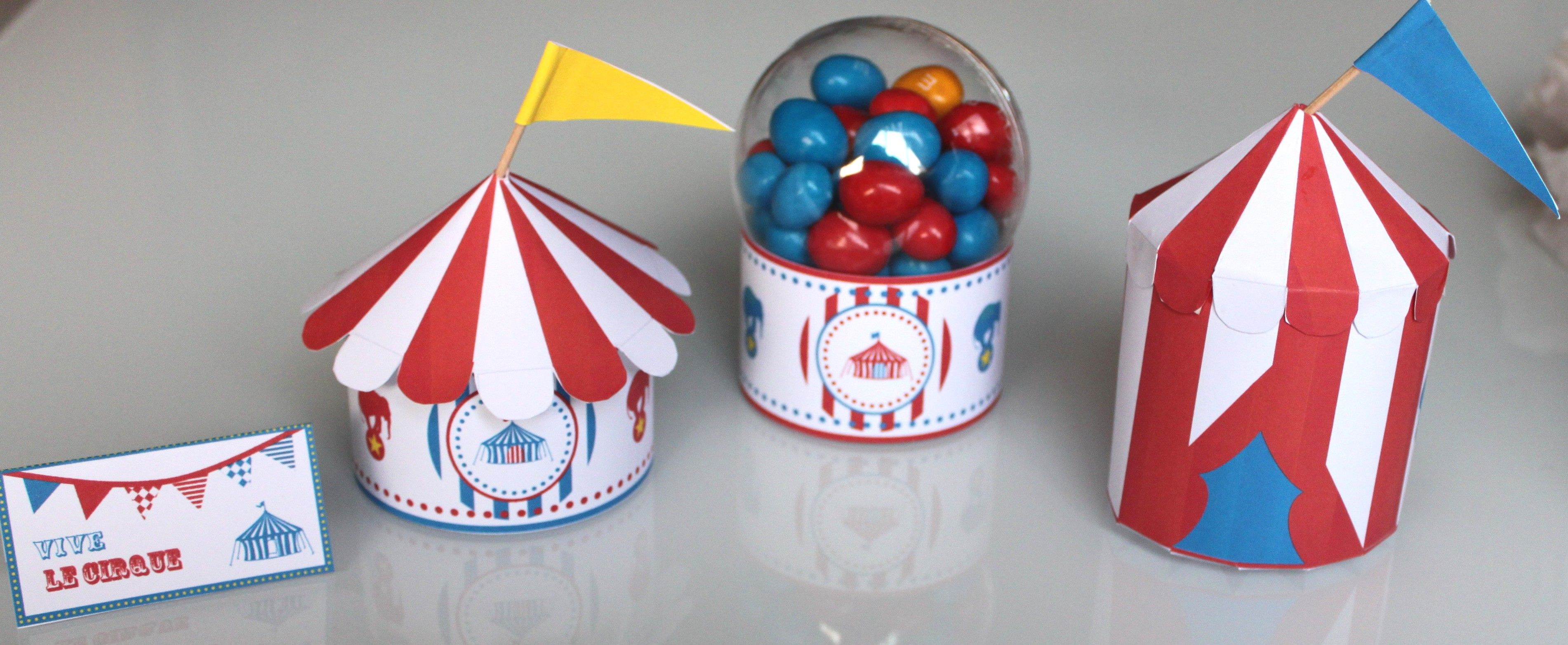 DIY CIRQUE : créer une tente de cirque