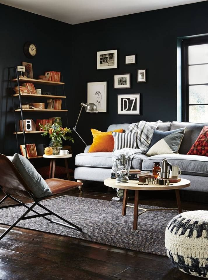 Best Striking Looks With Dark Walls  Beautiful With Images 400 x 300
