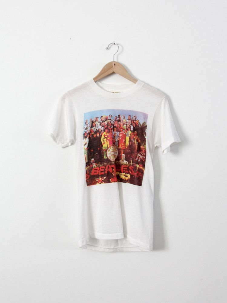 d6c85c00 vintage The Beatles t-shirt / Sgt. Pepper's Lonely Hearts Club Band ...