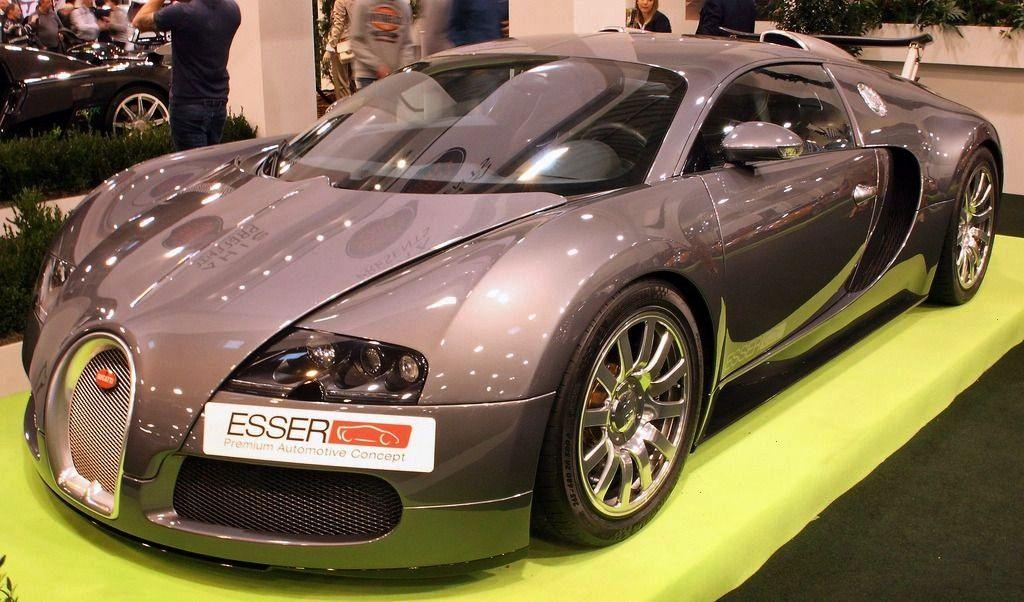 """Bugatti Veyron 16.4 at the Essen Motorshow.&rd... -Veyron""""A Bugatti Veyron 16.4 at the Essen Mo"""