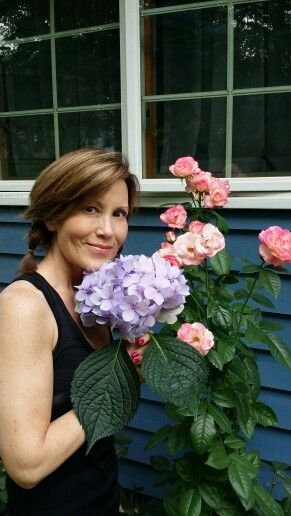 Some of my flowers had beautiful blooms.....Bridgeport, MI  2014
