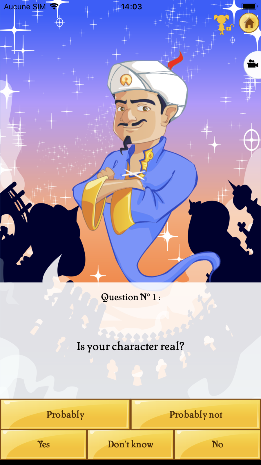 Akinator Vip Trivia Games Apps Ios Iphone Games Family Games Genies