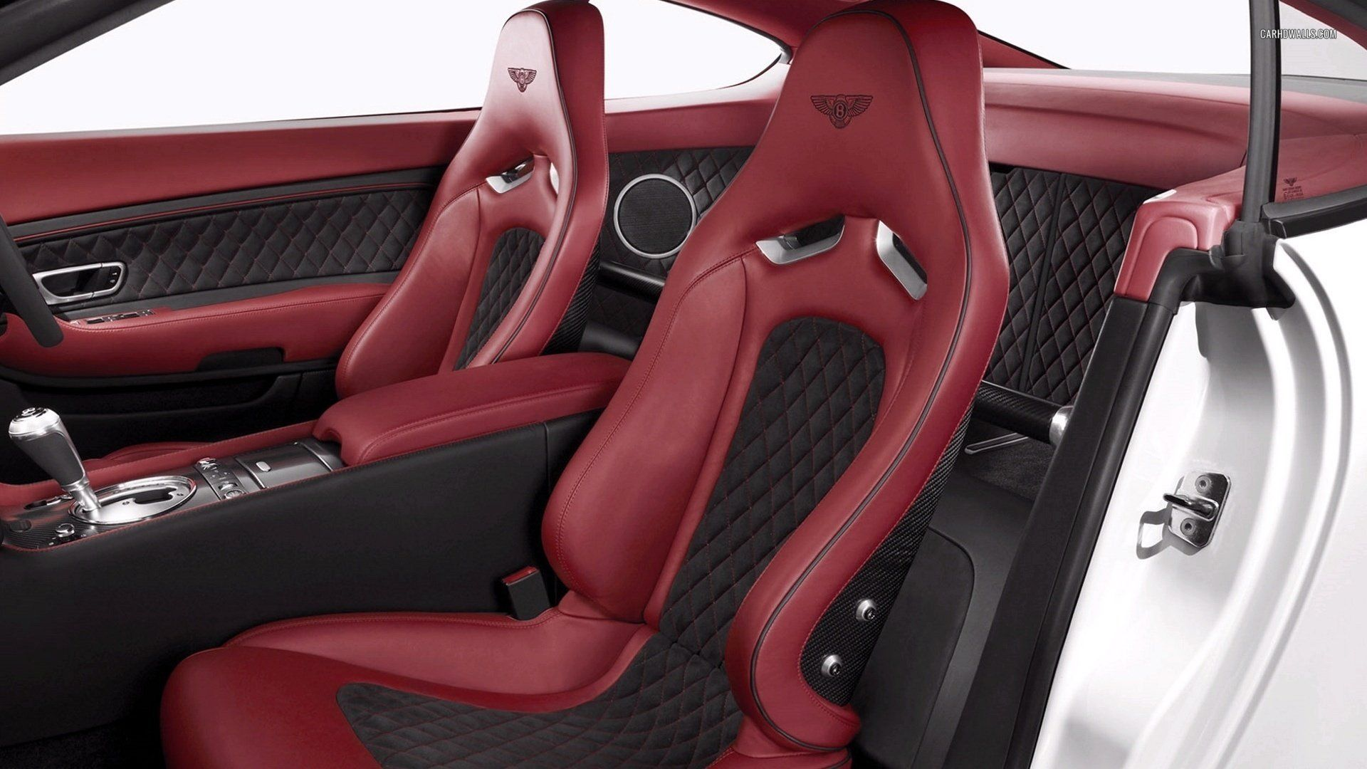Bentley Continental Gt Supersports Interior Red And Black Two Tone