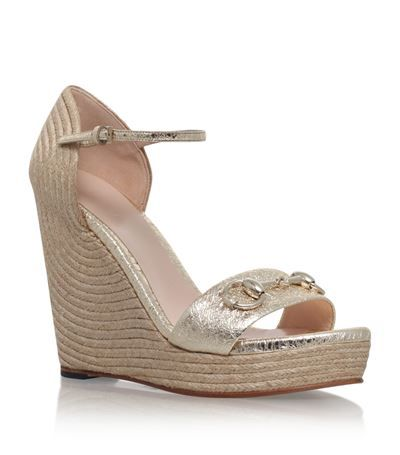 a2e69c66cb2 GUCCI Carolina Espadrille Wedge Sandal.  gucci  shoes