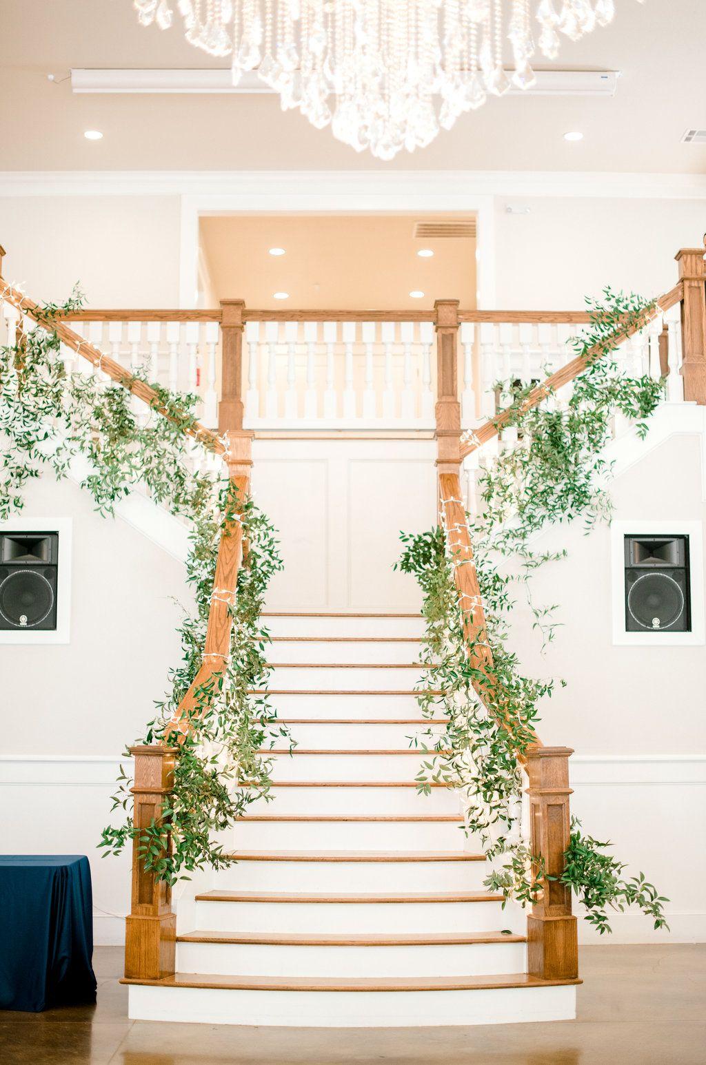 Magnolia Manor Wedding Reception Lighting Christmas Lights