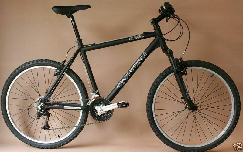 Cycletool Mtb Rh 44 Shimano Deore 26 Mtb Shimano Bike