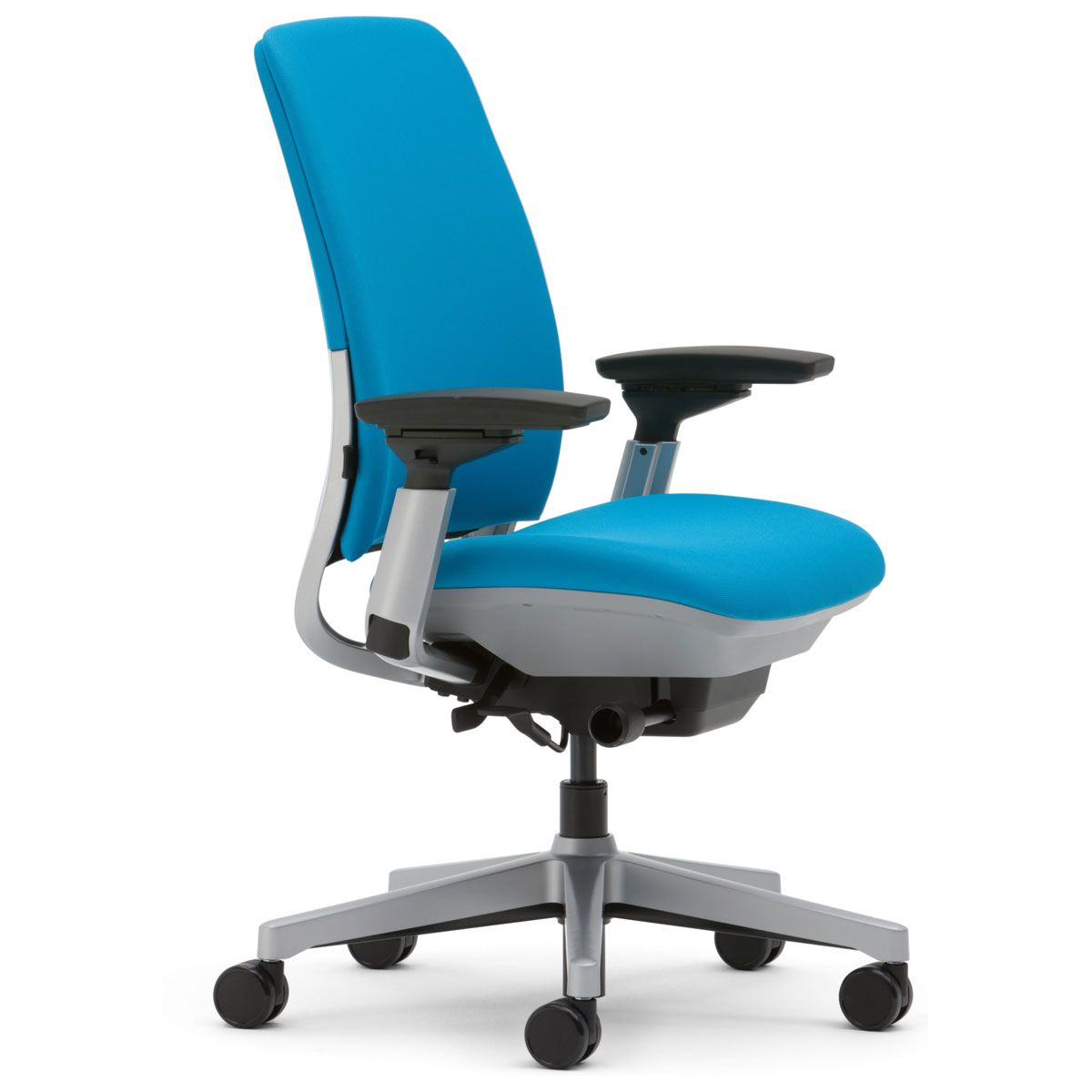The Steelcase Amia Chair Provides The Same Comfort And Support Of Higher End Ergonomic Office Chairs At Nearly Ha Beach Chair Umbrella Chair Used Office Chairs
