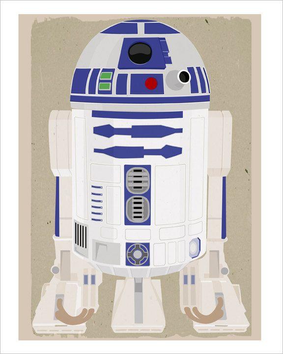 Star Wars r2d2 print