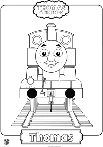 Thomas The Train Coloring Page Train Coloring Pages Thomas The Train Birthday Party Thomas And Friends