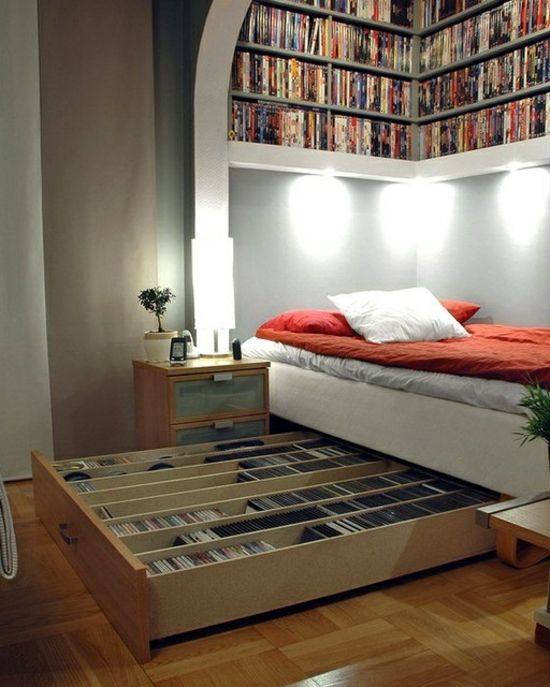 aufbewahrungsideen im schlafzimmer 35 ausgekl gelte l sungen haus pinterest schlafzimmer. Black Bedroom Furniture Sets. Home Design Ideas