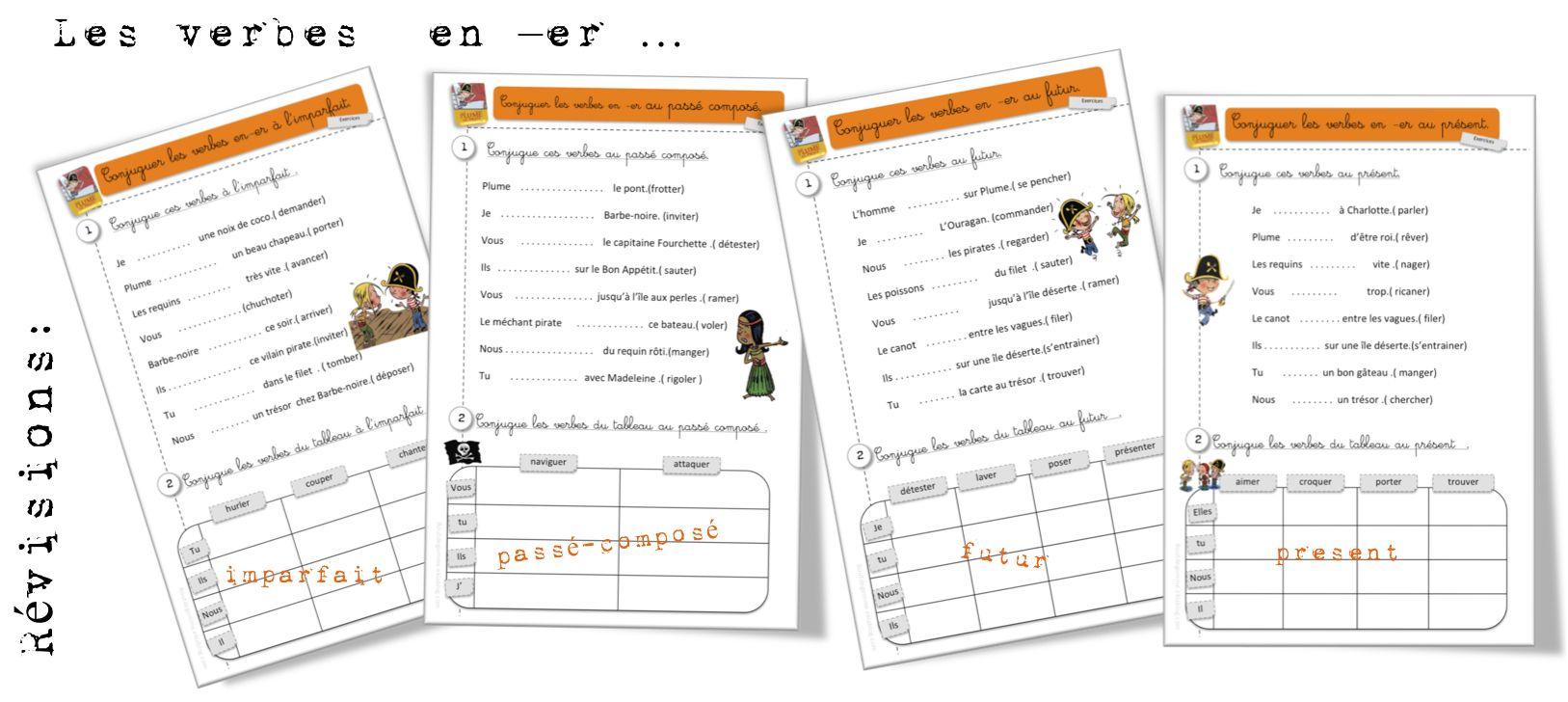 Voici 4 Fiches De Révision Pour Nos Pe élèves Du Ce1 Et Aussi Ce2