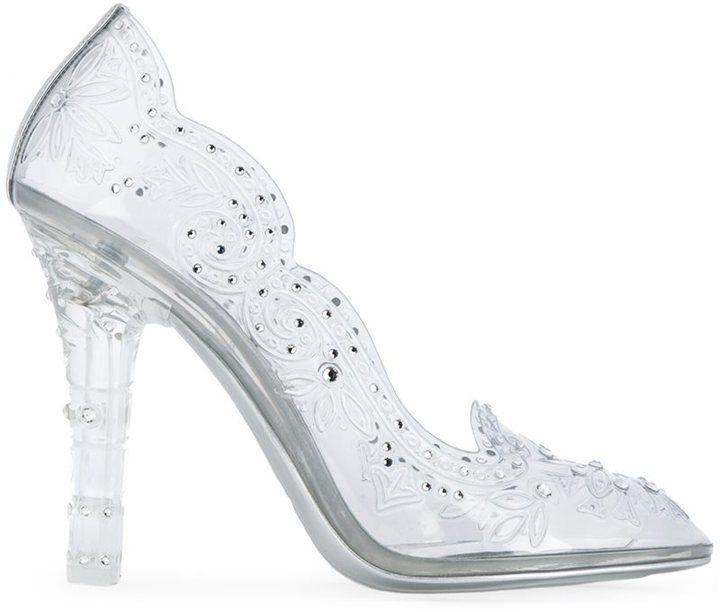 20209bc8c26 Dolce & Gabbana cut-out flower pumps | Fashion Files | Cinderella ...