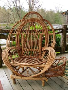 Exceptional Willow Furniture   Awesome Chair, Would Love This Inside With Fluffy  Pillows Foru2026